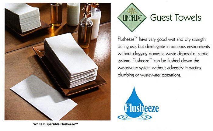 Linen-Like Guest Towels