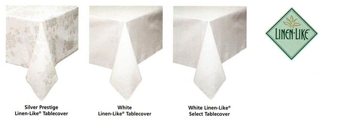 Linen-Like Table Covers