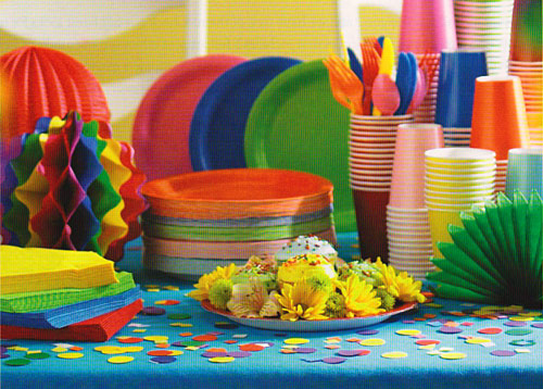 paper products for parties